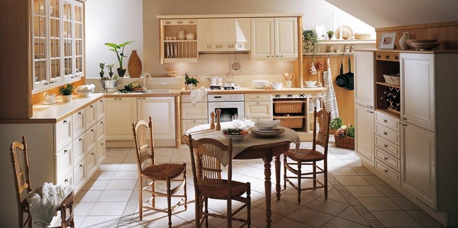 Arquitectura de casas una hermosa cocina moderna y cl sica for Casas estilo clasico moderno