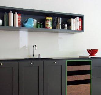 Arquitectura de Casas: Diseño modular para cocinas.