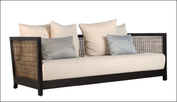 Arquitectura de casas muebles orientales de madera y for Mueble tipo divan