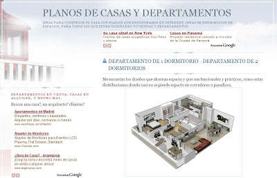 Planos arquitectónicos de casas