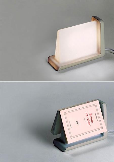 Lámpara de lectura sensible
