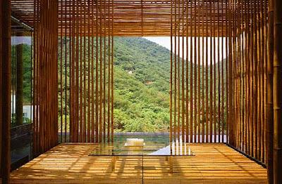 Paredes de bambú