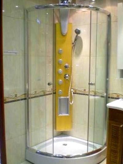 Arquitectura de casas cabinas para ducha for Cabina de ducha easy