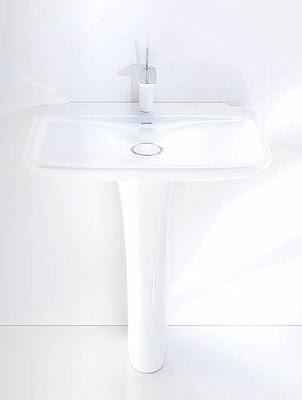 Lavamanos con pedestal