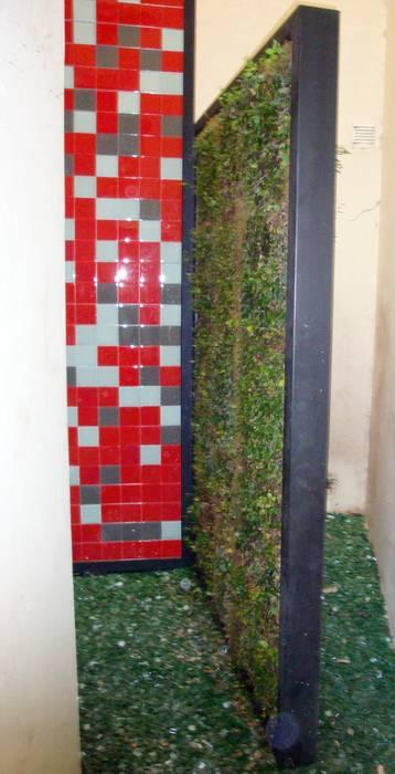Panel de jardín vertical