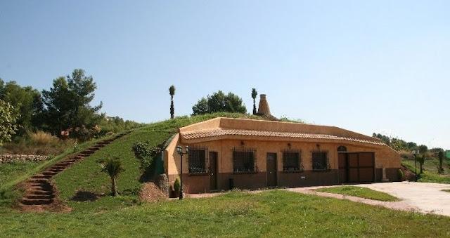 Casas cueva nuevas en España - Biovivienda