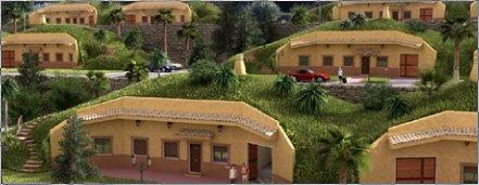 Bioviviendas en España, casas cueva sustentables