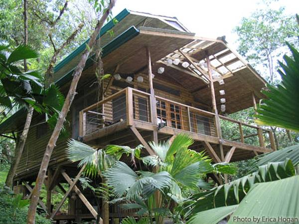 Casa cabaña rústica en Costa Rica