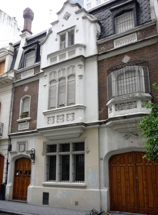 Arquitectura de casas fachadas de estilo en buenos aires for Fachadas de casas de barrio