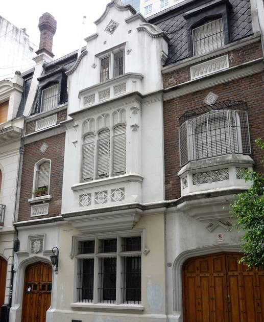 Arquitectura De Casas Fachadas De Estilo En Buenos Aires