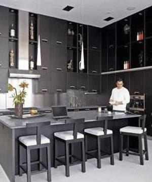 Cocina de Penthouse