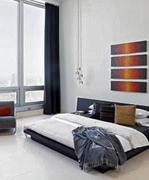 Dormitorio de Penthouse