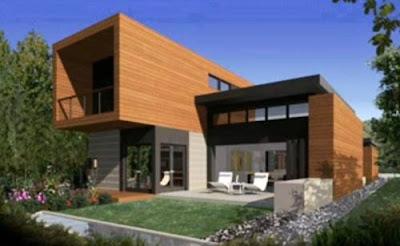 Casa con arquitectura de diseño