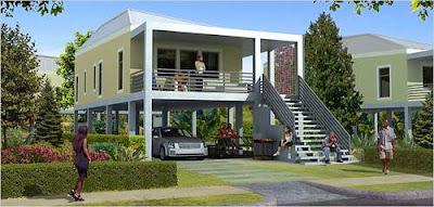 Casa económica por Katrina