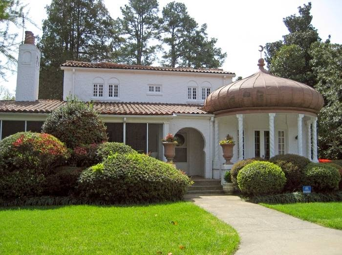 Arquitectura de casas casa con dise o rabe - Casas estilo arabe ...