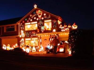 Casa navideña - Imagen de www.sxc.hu