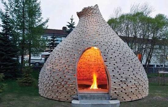 Arquitectura de casas fog n para el jard n noruega for Una estrella en el jardin