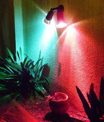Arquitectura de casas iluminaci n exterior - Lamparas de exteriores de pared ...
