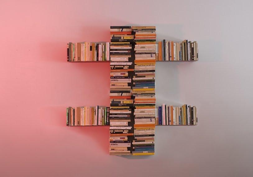 Arquitectura de casas singulares estanter as de libros - Estanteria para libros ...
