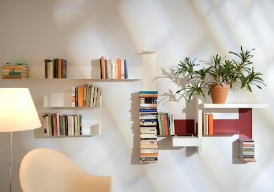 Estantes librería