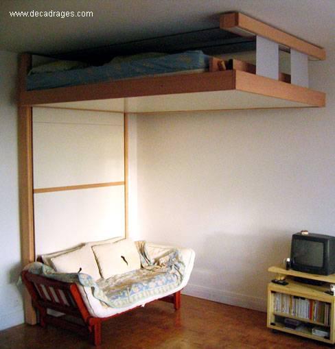 Arquitectura de casas originales camas abatibles francesas for Cama escondida en mueble