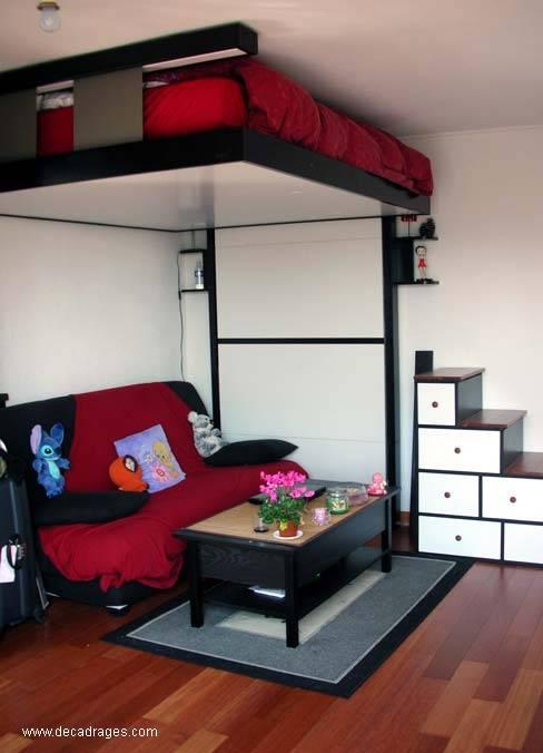 Arquitectura de casas originales camas abatibles francesas - Fabricar cama abatible ...