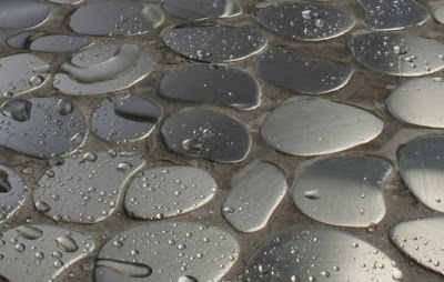 Baldosas de metal para pisos