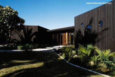 Casa madera moderna