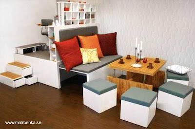 Mueble de diseño multifunción