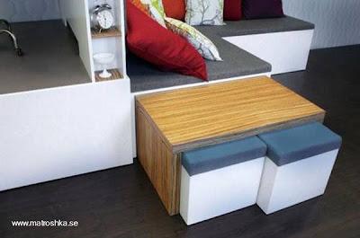 Decoración mueble multifunción