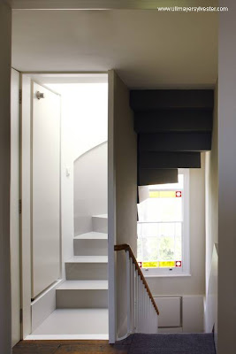 Escalera a la terraza
