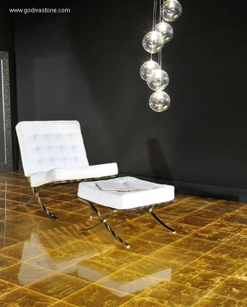 Arquitectura de casas pisos de m rmol cubiertos de oro for Pisos de marmol para casas