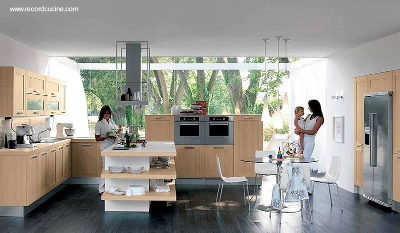 Arquitectura de casas dise os de cocinas italianas for Casas con cocinas modernas