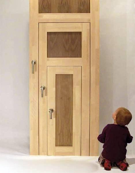 Arquitectura de casas puertas interiores triples 3 en 1 for Fabrica puertas interior