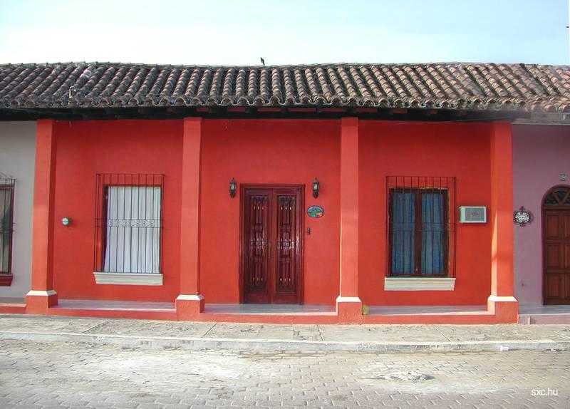 Fachadas de casas para pintar imagui Casas griegas antiguas