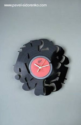 Reloj de pared diseño decorativo