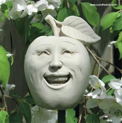 Escultura decorar jardín