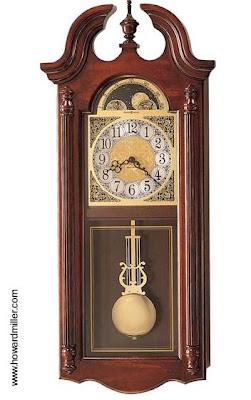 Reloj antíguo de pared