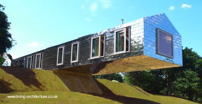 Arquitectura de casas arquitectura moderna de gran clase - Arquitectura casas modernas ...
