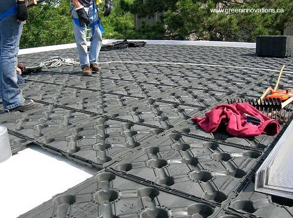Arquitectura de casas techos verdes ecol gicos con for Casa techo 1 agua