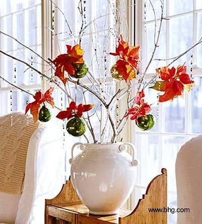 Arquitectura de casas decoraciones para la navidad for Decoraciones para navidad interiores