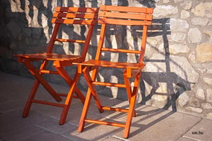 Arquitectura de casas sillas de jard n en distintos materiales - Sillas de madera plegables precios ...
