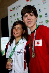 Campeã das Olimpíadas Brasileira de xadrez