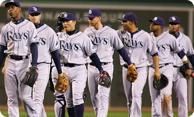 the super awesome and amazing tampa bay rays