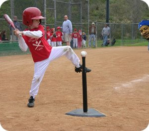 T-Ball pitcher!