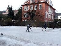 Lední hokej - Děčín 132m n.m.- believe in