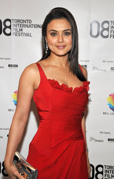 Preity Zinta In Sexy Dress