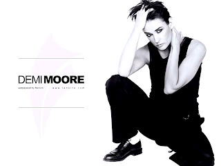 Demi Moore Beautyful Wallpaper