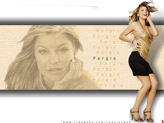 Stacy Fergie Lovely Wallpaper