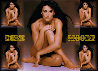 Demi Moore Nude Wallpaper
